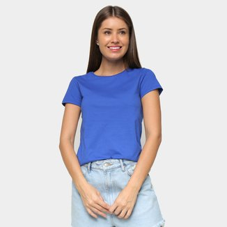 Camiseta Malwee Básica Manga Curta Feminina