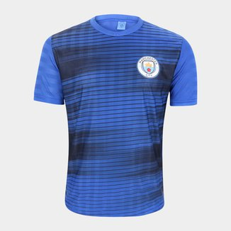 Camiseta Manchester City Jacquard Masculina