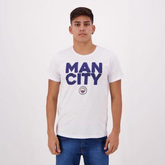 Camiseta Manchester City Masculino - Branco