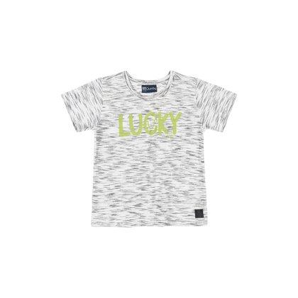 Camiseta Manga Curta Lucky Quimby