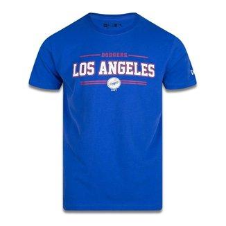 CAMISETA MANGA CURTA MLB LOS ANGELES DODGERS COLLEGE CITY ROYAL NEW ERA