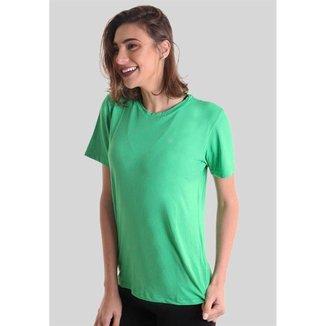 Camiseta Manga Curta Proteção UV50+ - Verde Musgo - P