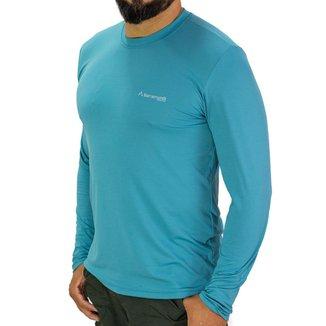 Camiseta Manga Longa Barramundi Uv50+ Pesca E Aventura