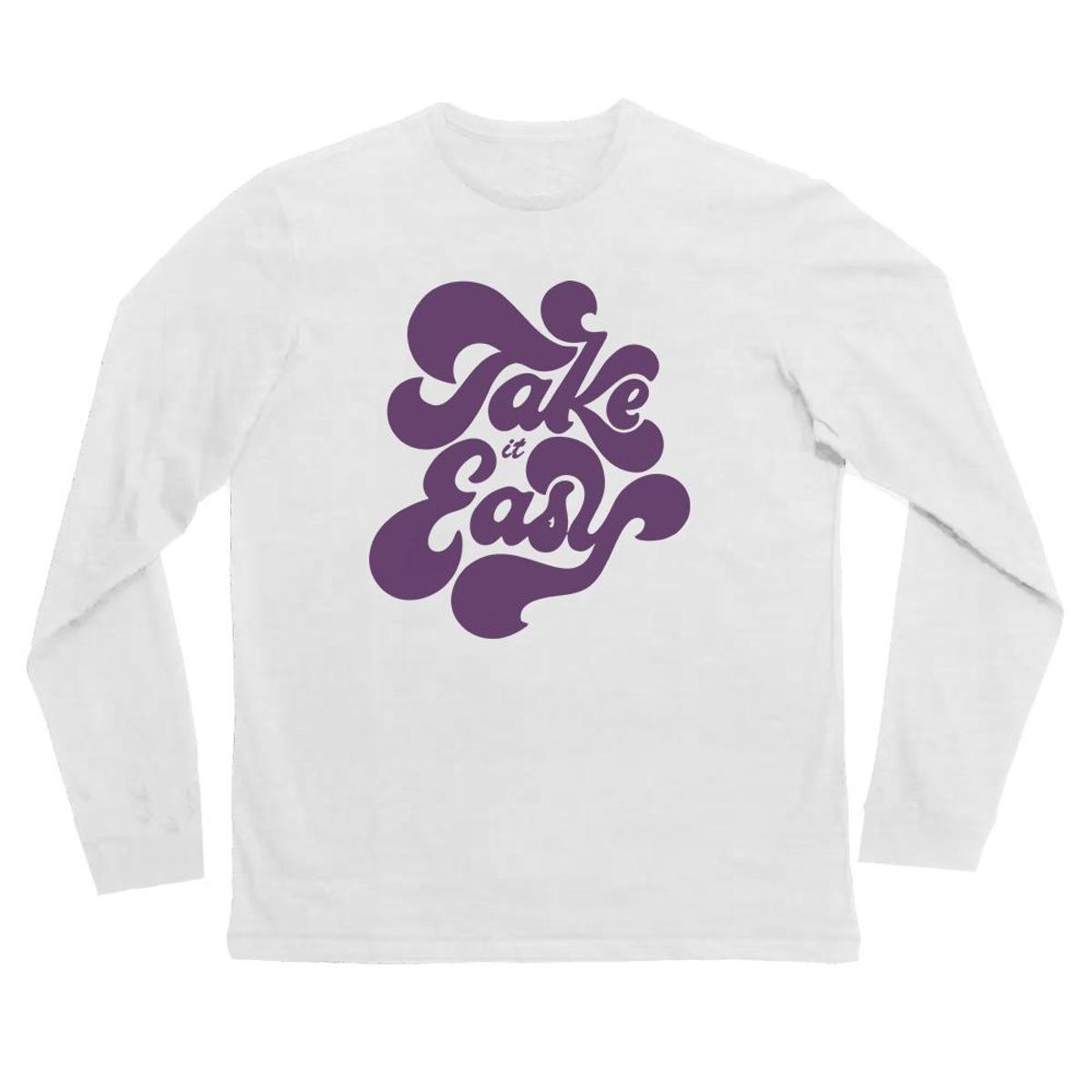 6169fe256 Camiseta Manga Longa Infantil Take Easy Comfy Feminina - Compre Agora