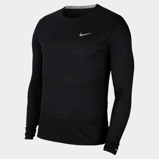 Camiseta Manga Longa Nike Dri-Fit Miler Masculina