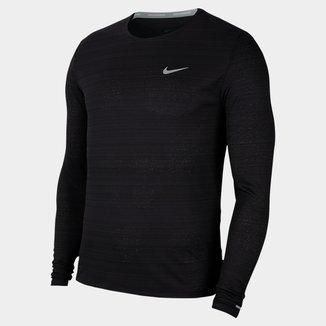 Camiseta Manga Longa Nike Dri-Fit Miller Masculina