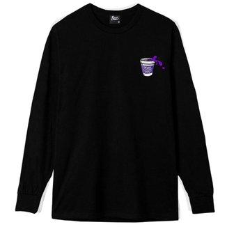 Camiseta Manga Longa Purple Juice Masculina