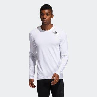 Camiseta Manga Longa Techfit Compression Adidas