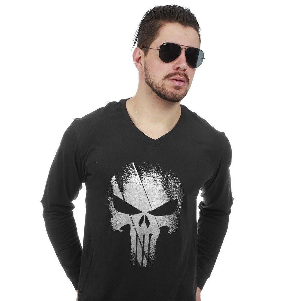 b835904eaca Camiseta Manga Longa The Punisher - Compre Agora