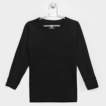 A Camiseta Marlan Manga Longa Menino Infantil é confeccionada em tecido 100% algodão e apresenta design liso. Além disso...