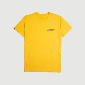 Camiseta Masc. Chevrolet Camaro SS Back Print - Amarela