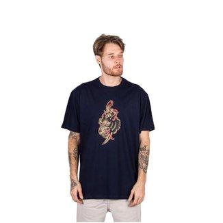 Camiseta Masculina Blunt Wolf Lobo Skate