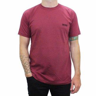 Camiseta Masculina Boss Gola Redonda 100% Algodão
