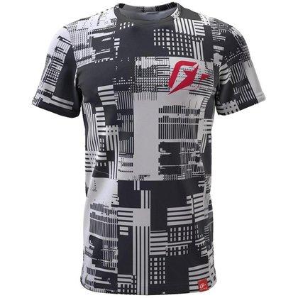 Camiseta Masculina Geométrico Urbano - GG