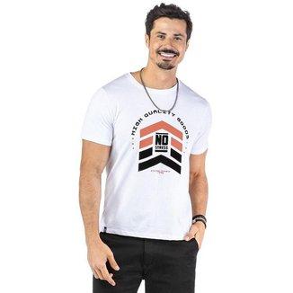 Camiseta Masculina High Quality Goods No Stress - VERDE - M