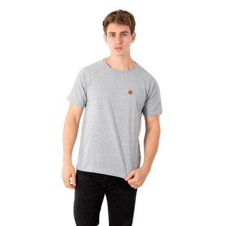 Camiseta Masculina Raglan Under No Stress - GRAFITE - M