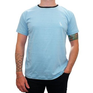Camiseta Masculina Reserva Gola Redonda 100% Algodão