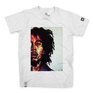 Camiseta Masculina Stoned Bob Marley Four Masculina