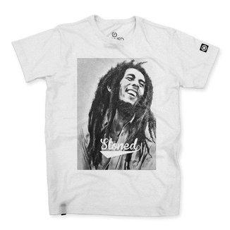Camiseta Masculina Stoned Bob Marley Masculina