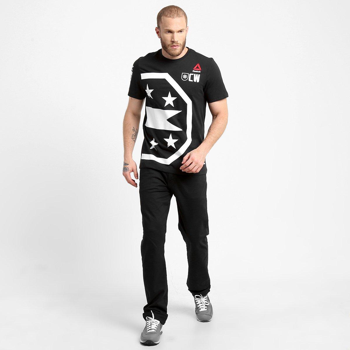 06617ce498 Camiseta Masculina UFC Reebok Icon Weidman - Compre Agora