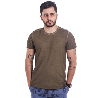 Camiseta Masculina Verde Base M