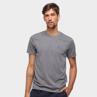 Camiseta MBL New York Yankees New Era Urban Tech Globe Masculina