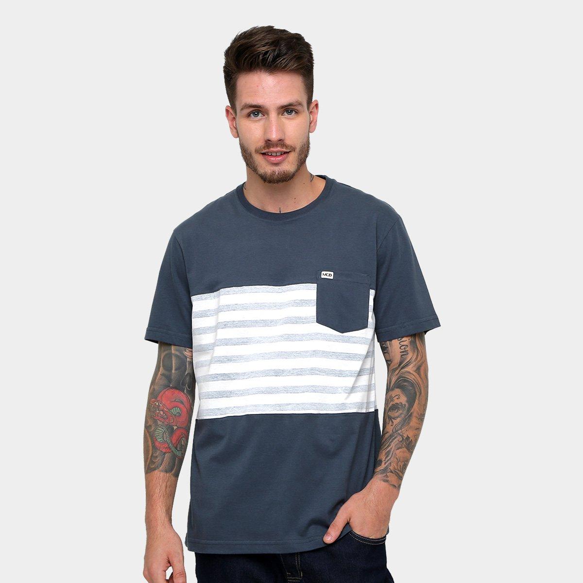 Camiseta MCD Especial Core Stripes Masculina - Compre Agora  2b6baf9c520