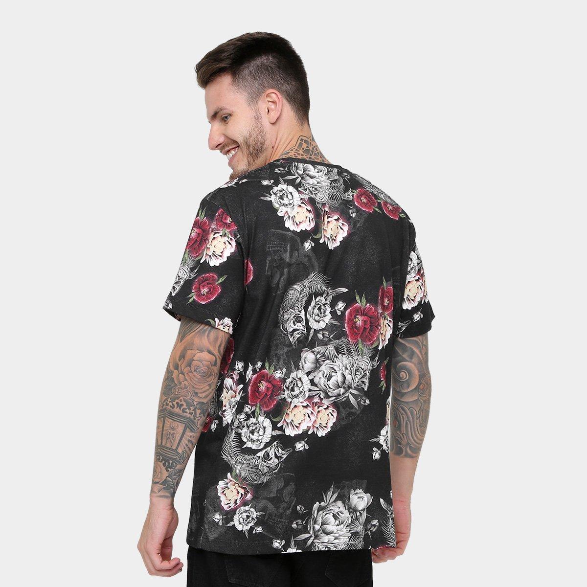 Camiseta MCD Especial Flower Fish IV Masculina - Compre Agora  03b39465c2b