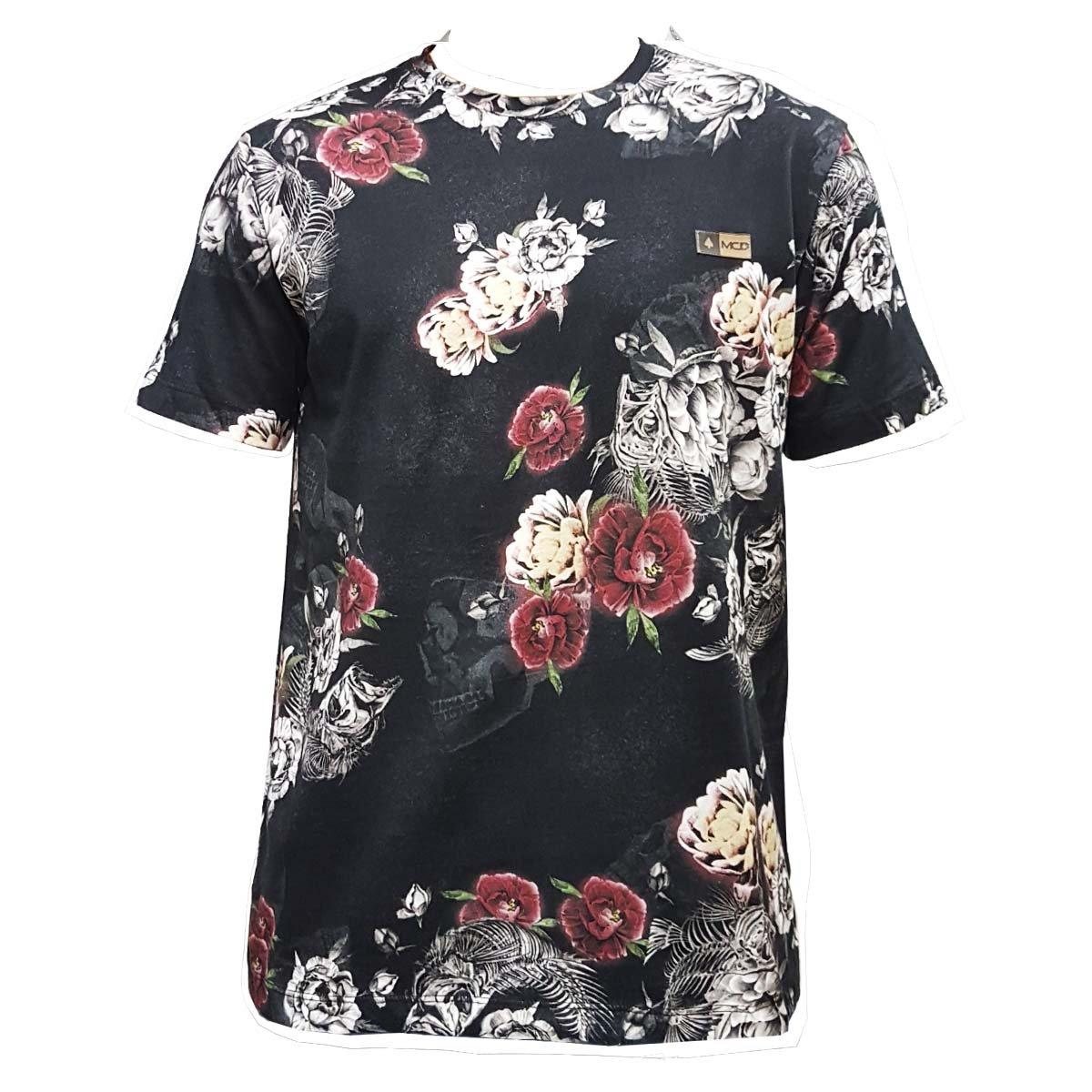 Camiseta MCD Especial Flower Fish Preta - Compre Agora  223984da368