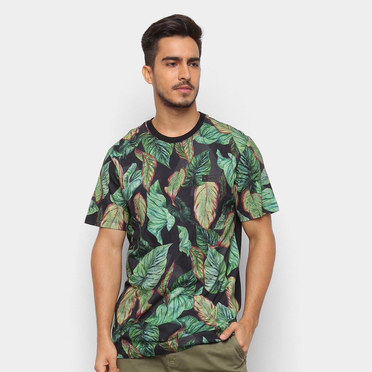 Camiseta MCD Especial Full Atlantic Forest Masculina - Preto - Compre Agora   5f0c93f9077