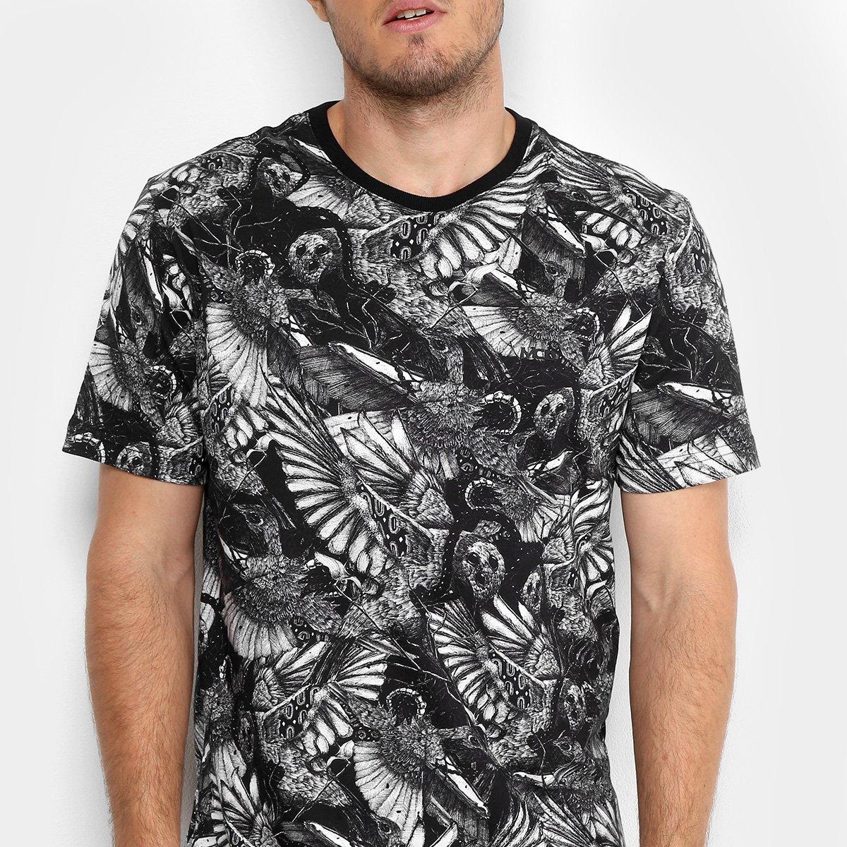 ... Camiseta MCD Especial Full Bird Bloom Masculina - Preto. GANHE MAIS c5aaa6b17cc