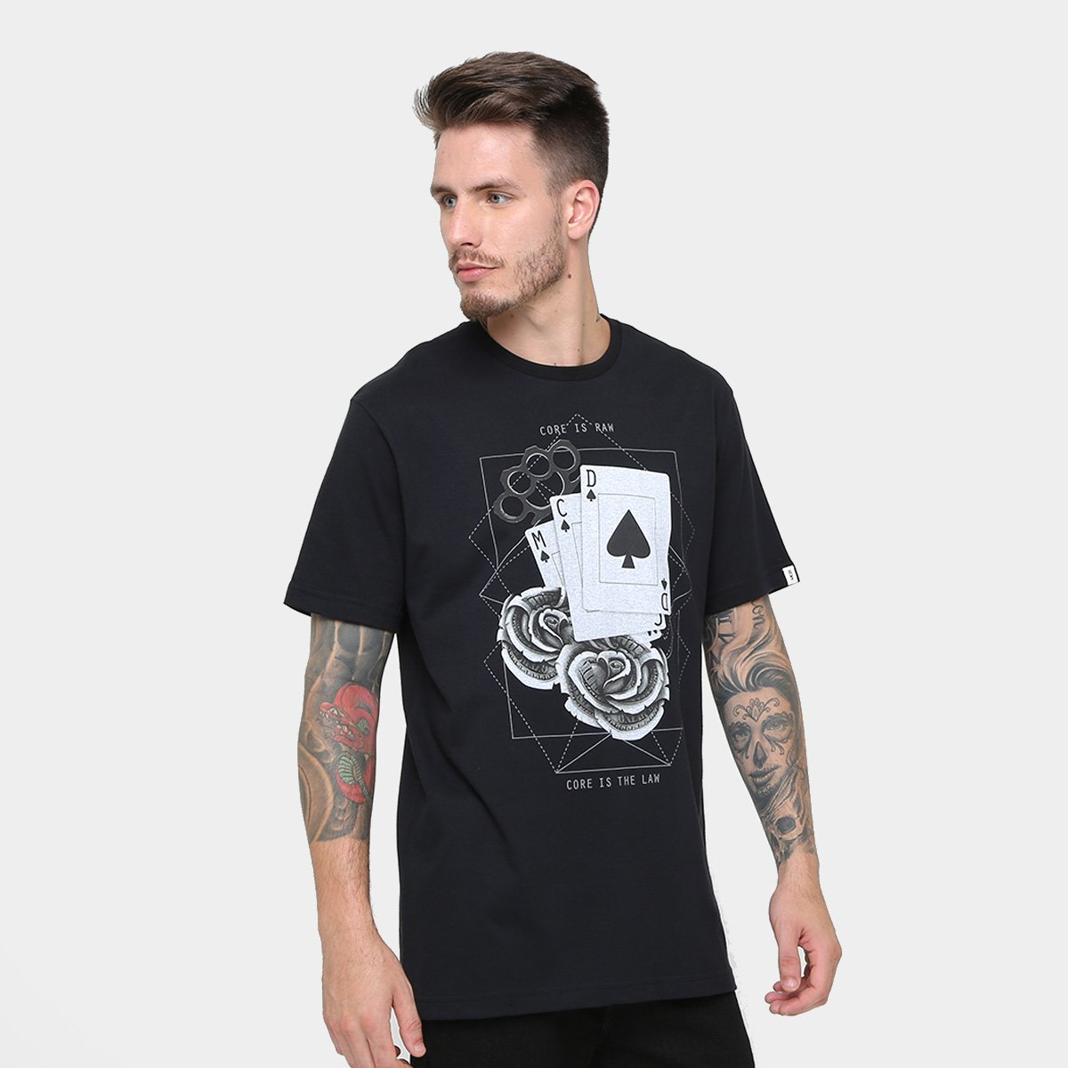 Camiseta MCD Regular Game Of Chance Masculina - Compre Agora  a982ff2f239