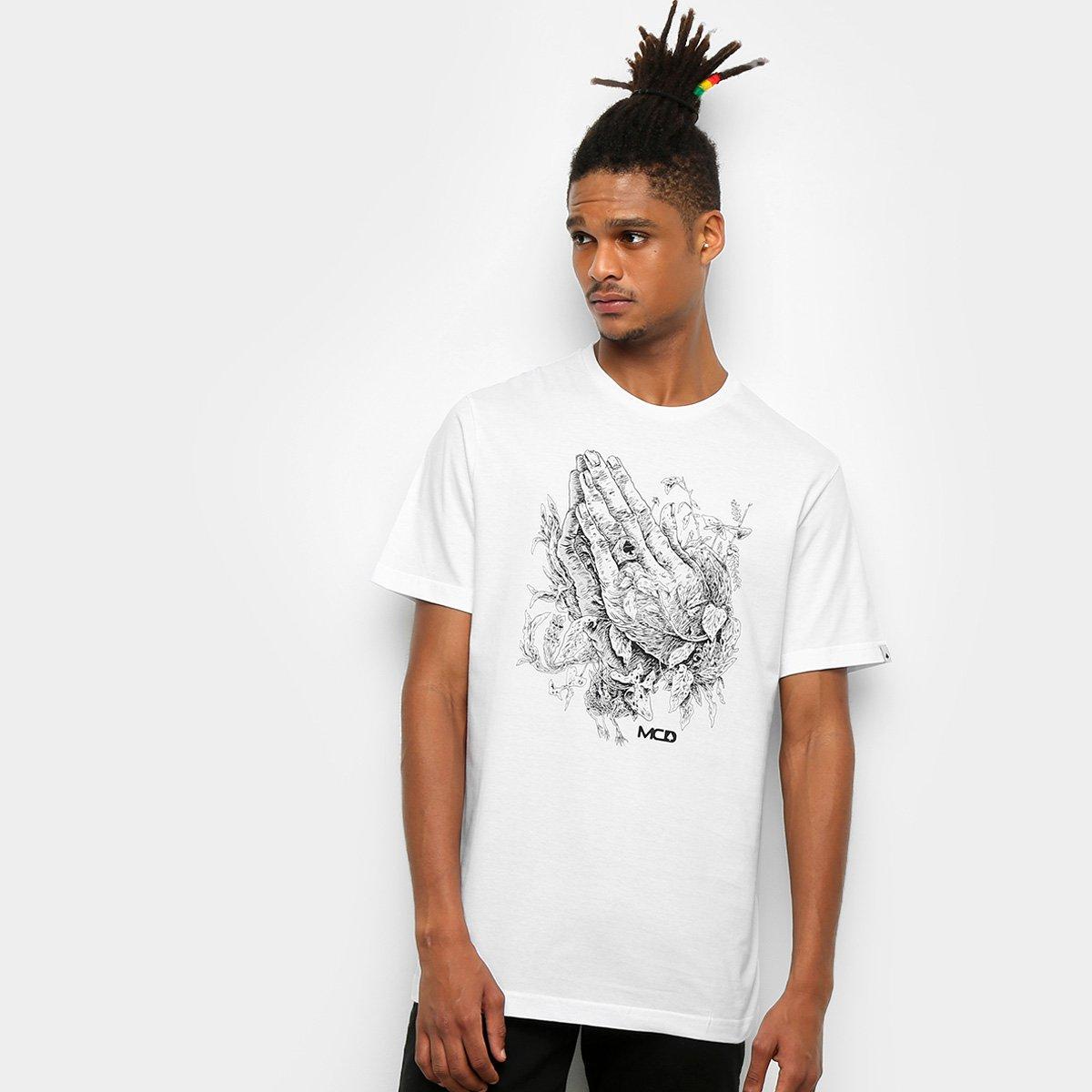 76272c26ffbfd Camiseta MCD Regular Pray Masculina - Compre Agora