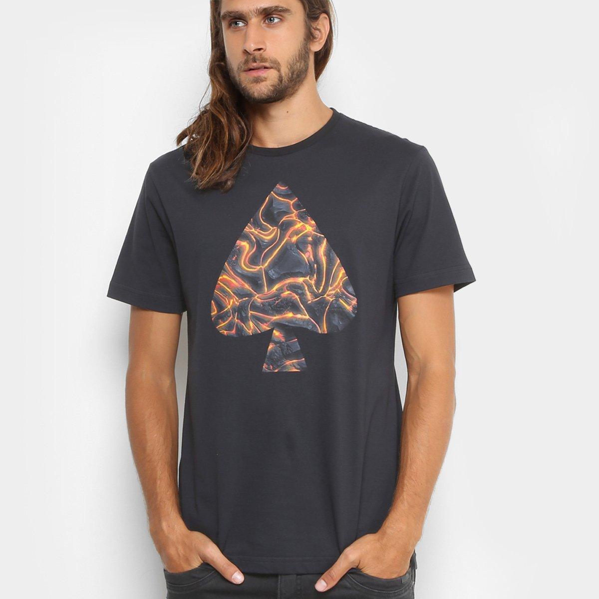 8d77a8f63bd97 Camiseta MCD Regular Vulcano Masculina - Compre Agora
