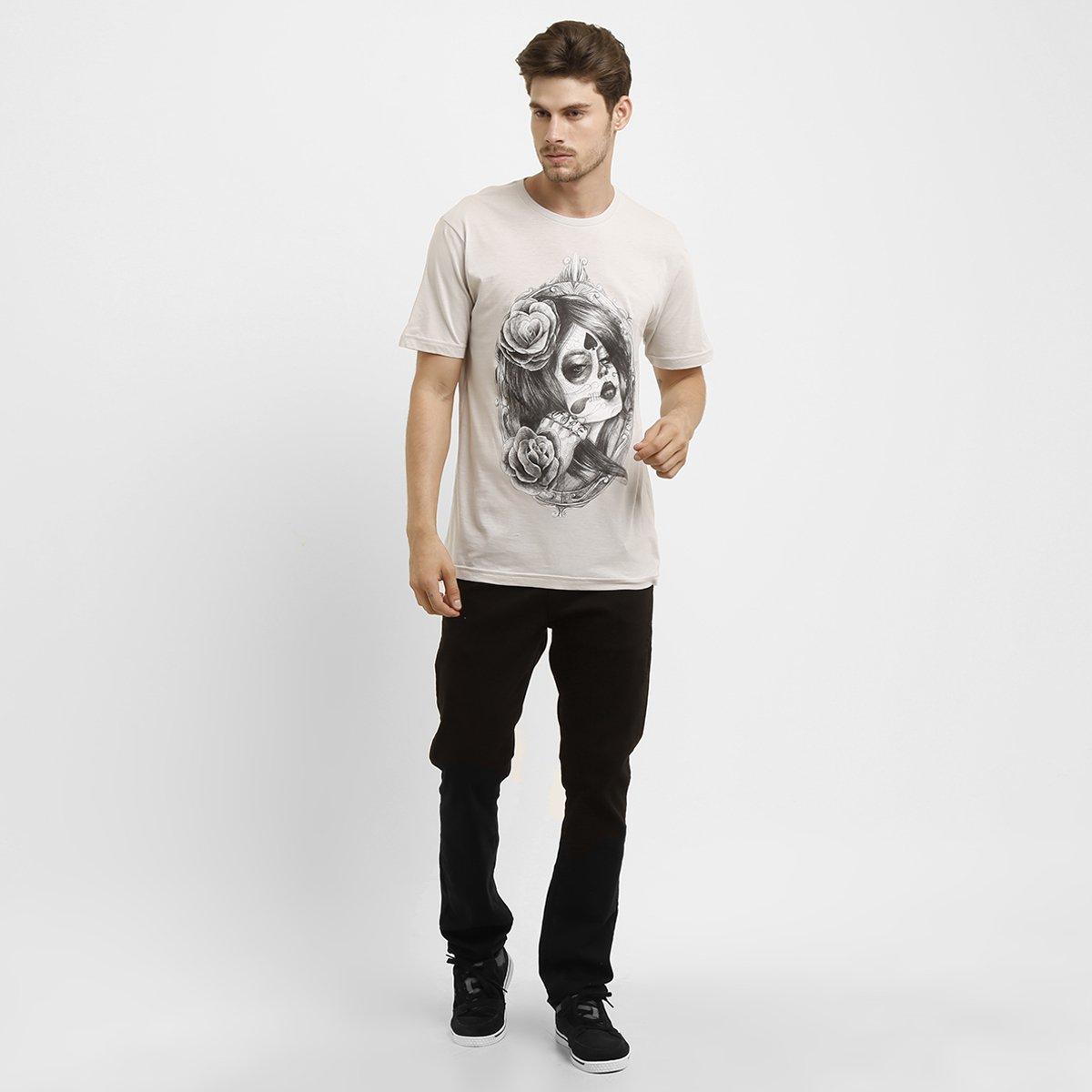 Camiseta MCD Santa Muerte - Compre Agora  12b4294a87a
