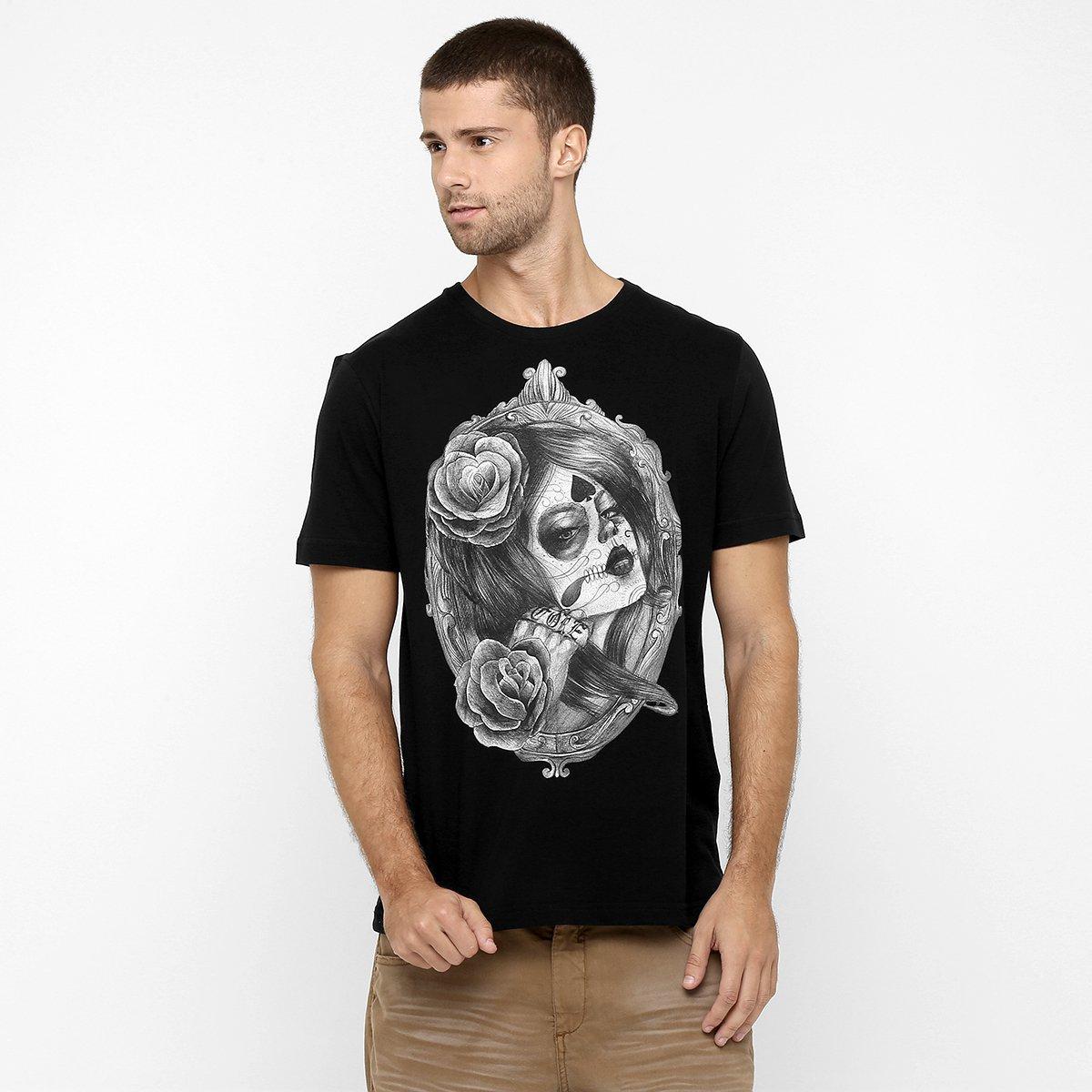 88da8df0efc9b Camiseta MCD Santa Muerte - Compre Agora