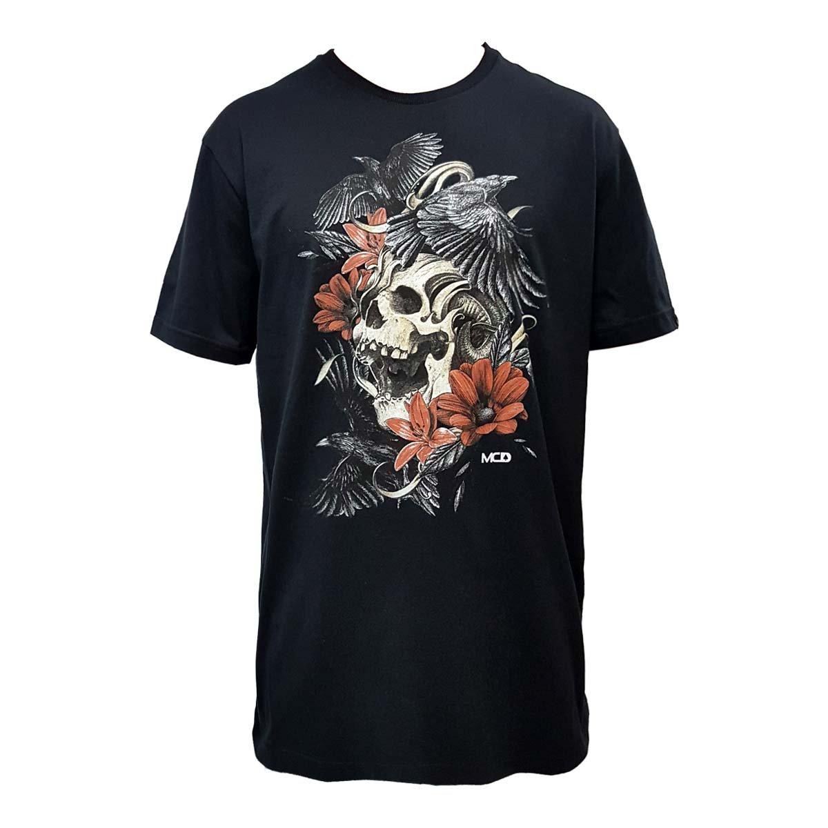 c61fd133eca5c Camiseta MCD Screen Skull Preta - Compre Agora