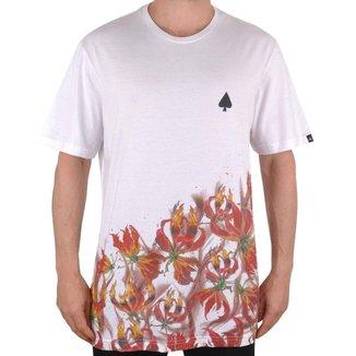 Camiseta Mcd Skull Flame Masculino