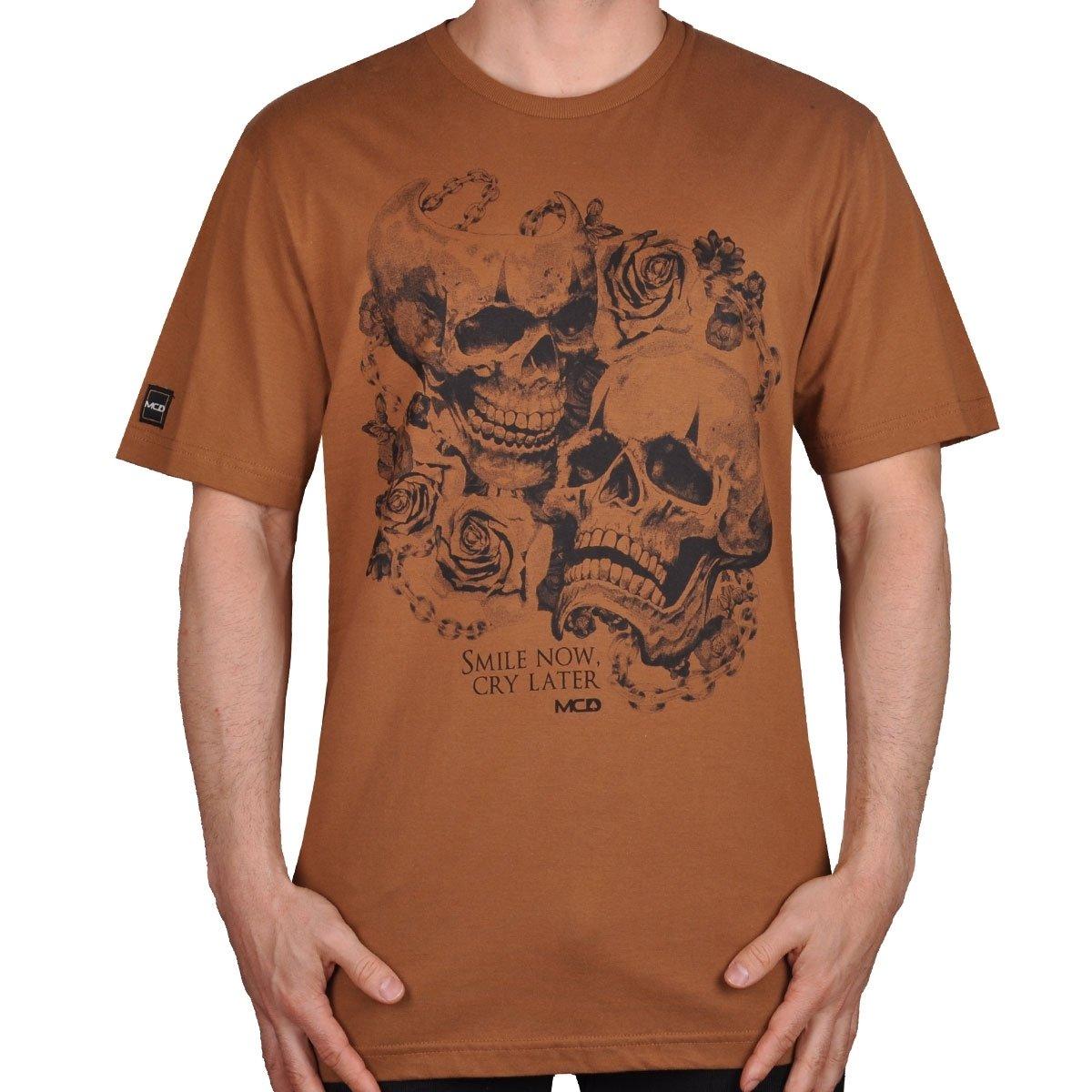 a4202ef12eb4f Camiseta Mcd Smile And Cry - Compre Agora