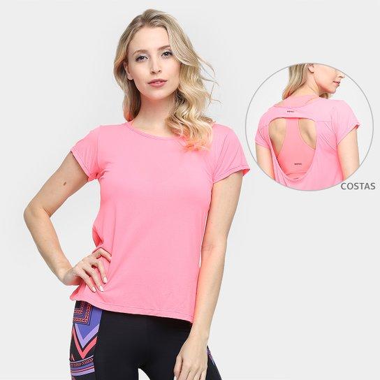 Camiseta Memo Abertura Costa - Rosa