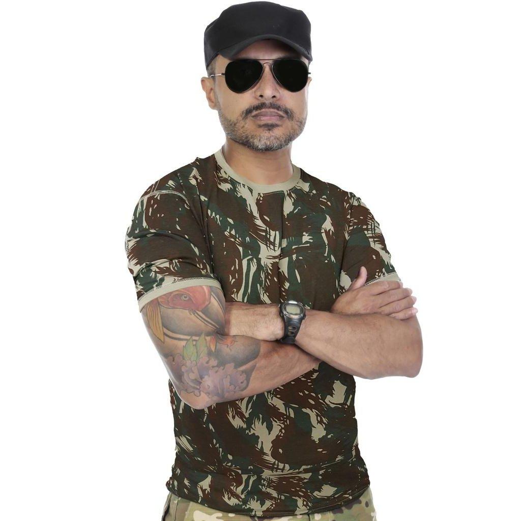 Camiseta Militar Camuflada Reforçada - Compre Agora  7205b7cc922