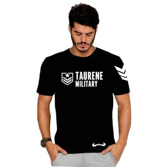 Camiseta Military Hell Soldier - M - Preta - Taurene