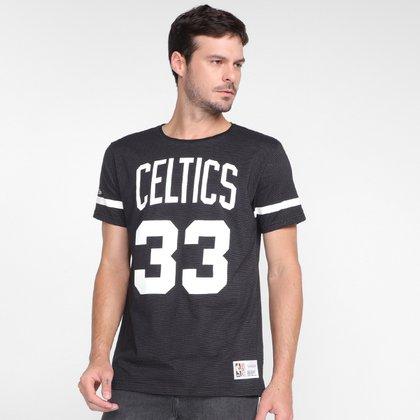 Camiseta Mitchell & Ness Boston Celtics Masculina