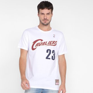Camiseta Mitchell & Ness Cleveland Cavaliers Masculina
