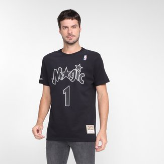 Camiseta Mitchell & Ness Estampada M895A Orlando Magic Masculina