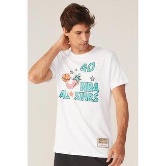 Camiseta Mitchell & Ness Estampada NBA All Star Shawn Kemp Masculino