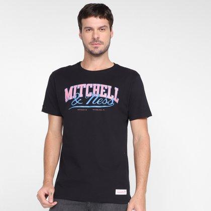 Camiseta Mitchell & Ness Logo Masculina