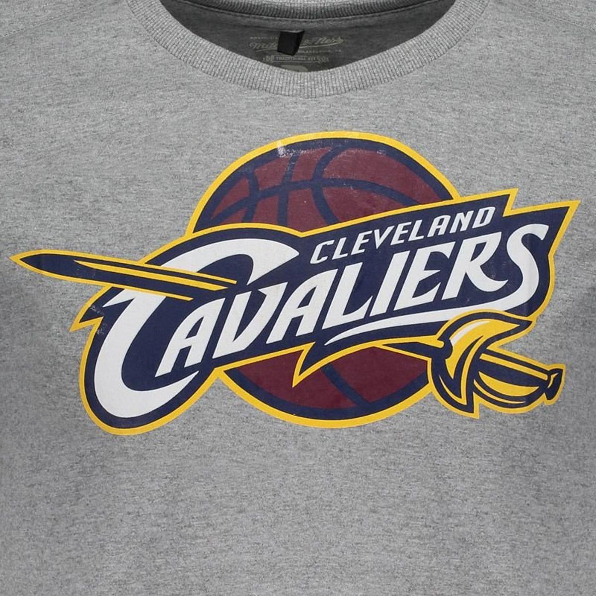 Camiseta Mitchell   Ness NBA Cleveland Cavaliers Masculina - Compre ... 7f039d4b8052a