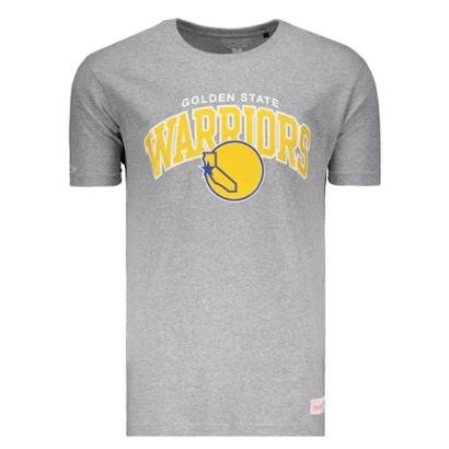 Camiseta Mitchell & Ness Nba Golden State Warriors Team Arch Masculino