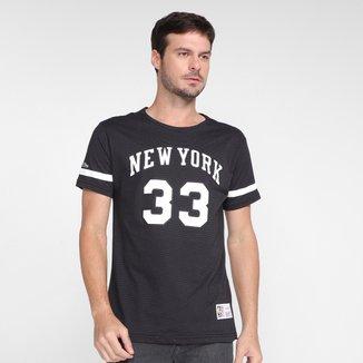 Camiseta Mitchell & Ness New York Knicks Masculina